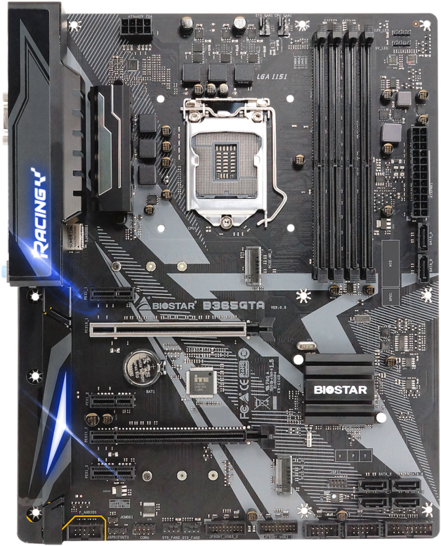 BIOSTAR B365GTA RACING ATX Motherboard