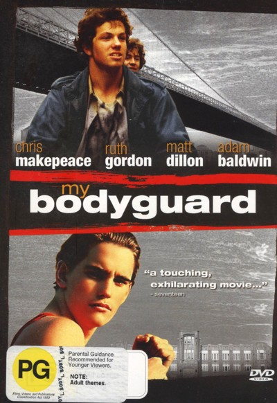 My Bodyguard on DVD image