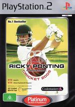 Ricky Ponting Cricket 2005 (Platinum) for PlayStation 2