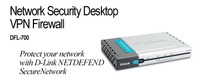 D-Link DFL-700, VPN FIREWALL FOR SME NETWORKS image