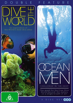 Dive The World / Ocean Men - Double Feature (3 Disc Box Set) on DVD
