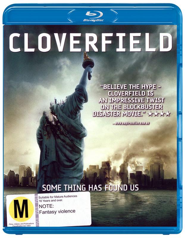 Cloverfield on Blu-ray