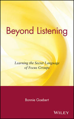 Beyond Listening by Bonnie Goebert image