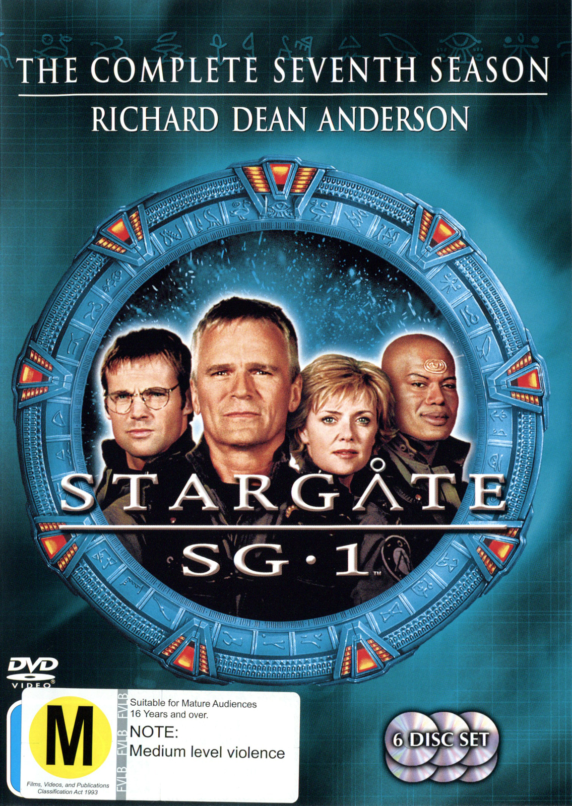 Stargate SG-1 - Season 7 (6 Disc Set) (New Packaging) on DVD image