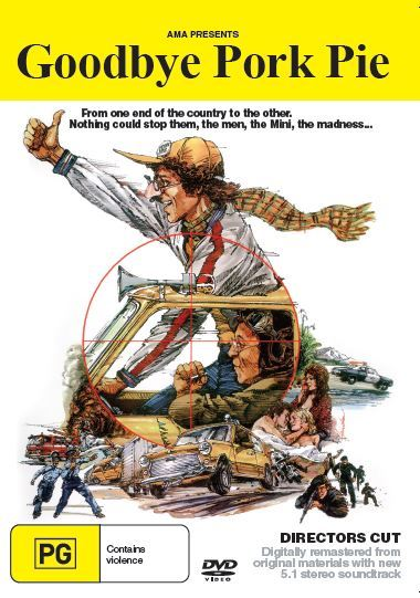 Goodbye Pork Pie on DVD image