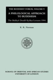 The Buddhist Forum: v.5 by K.R. Norman image
