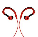 3SIXT Over Ear Sports Earphones (Black/Red)