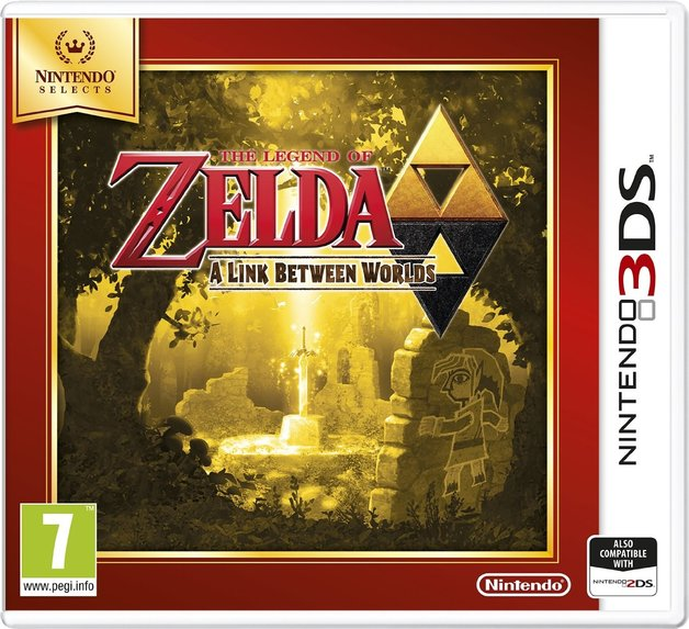 The Legend of Zelda: A Link Between Worlds (Selects) for 3DS