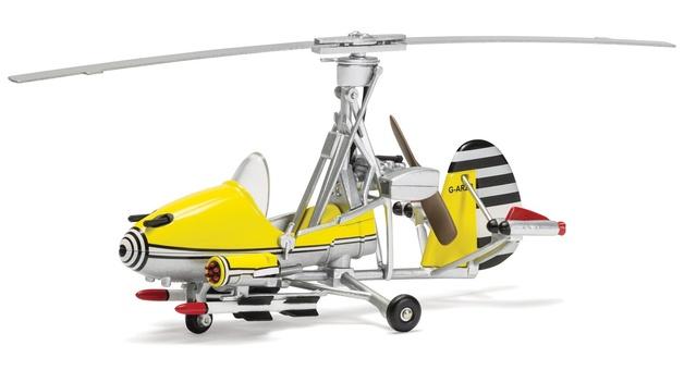 Corgi: 1/36 James Bond Gyrocopter 'Little Nellie' - Diecast Model