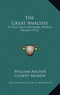 an analysis of william r keylors the legacy of the great war A war novel in the great tradition of remarque and sassoon kirkus reviews issue: dec 1st by william scott morrison fiction.