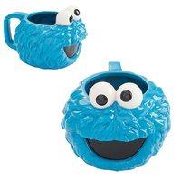 Sesame Street: Sculpted Ceramic Mug - Cookie Monster