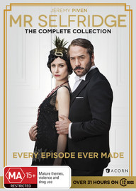 Mr Selfridge: The Complete Collection Series on DVD