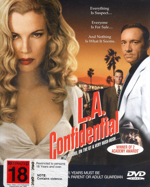 L.A. Confidential on DVD image