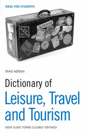 Dictionary of Leisure, Travel and Tourism by N/A image