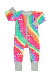 Bonds: Zip Wondersuit - Super Rainbow (Size 1)