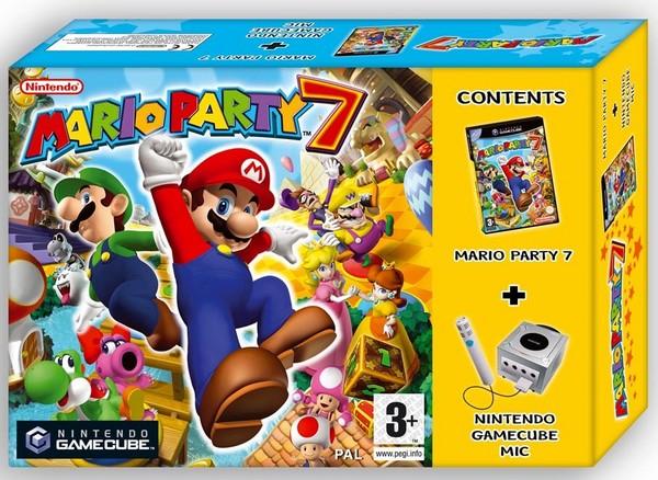 Mario Party 7 + Gamecube Mic for GameCube image