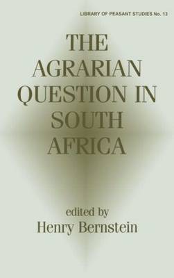 The Agrarian Question in South Africa image