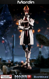 Mass Effect Mordin Solus 1/4 Statue