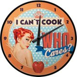Say it 50's Clock - I Can't Cook, Who Cares