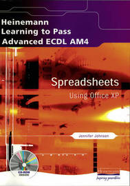 Advanced ECDL: Spreadsheets for Office XP by Christine Blackham image