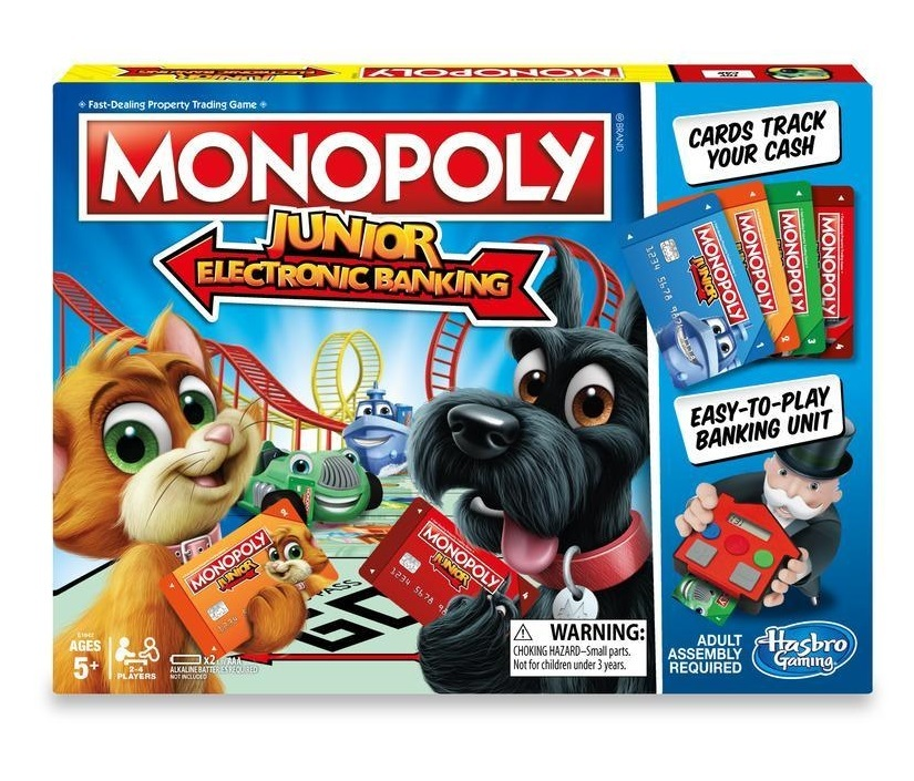 Monopoly: Junior - Electronic Banking Game image