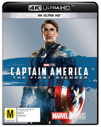 Captain America: The First Avenger on UHD Blu-ray