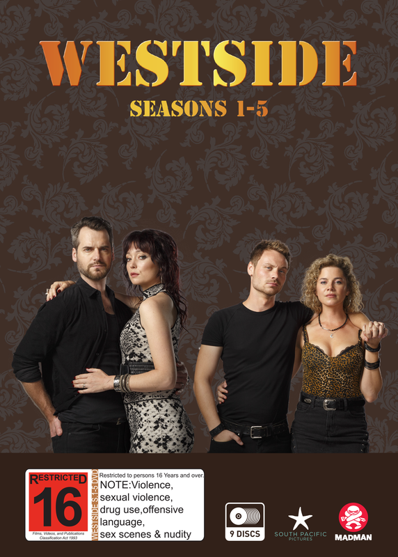 Westside Series 1-5 Boxset on DVD