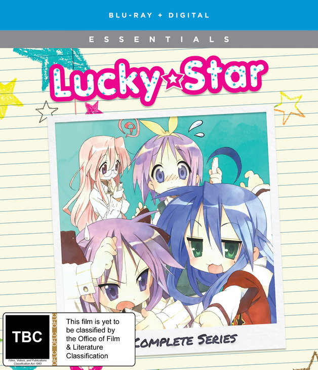 Lucky Star Complete Series + OVA on Blu-ray