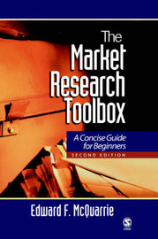 The Market Research Toolbox: A Short Guide for Beginners by Edward F. McQuarrie image