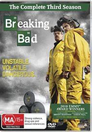 Breaking Bad - The Complete Third Season on DVD