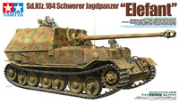 "Tamiya German Sd.Kfz.184 Schwerer Jagdpanzer ""Elefant"" 1/35 Model Kit"