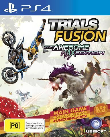 Trials Fusion Awesome Max Edition for PS4