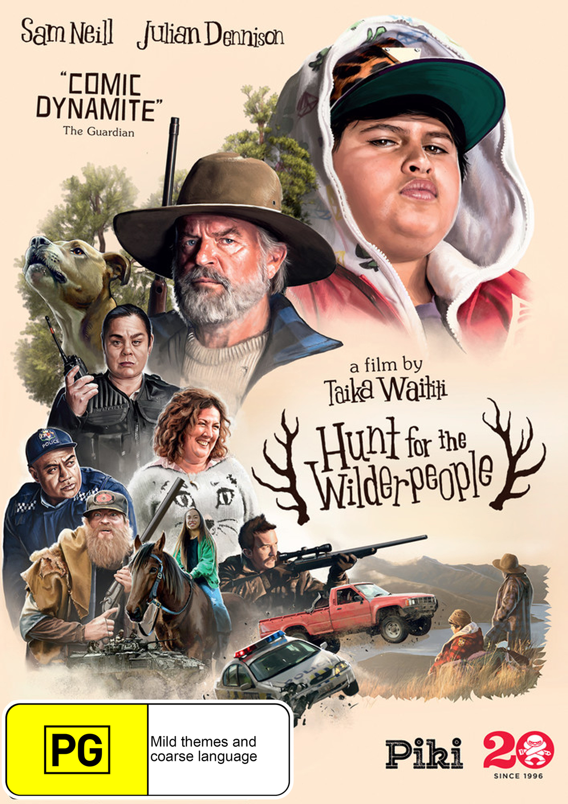 Hunt for the Wilderpeople on DVD image