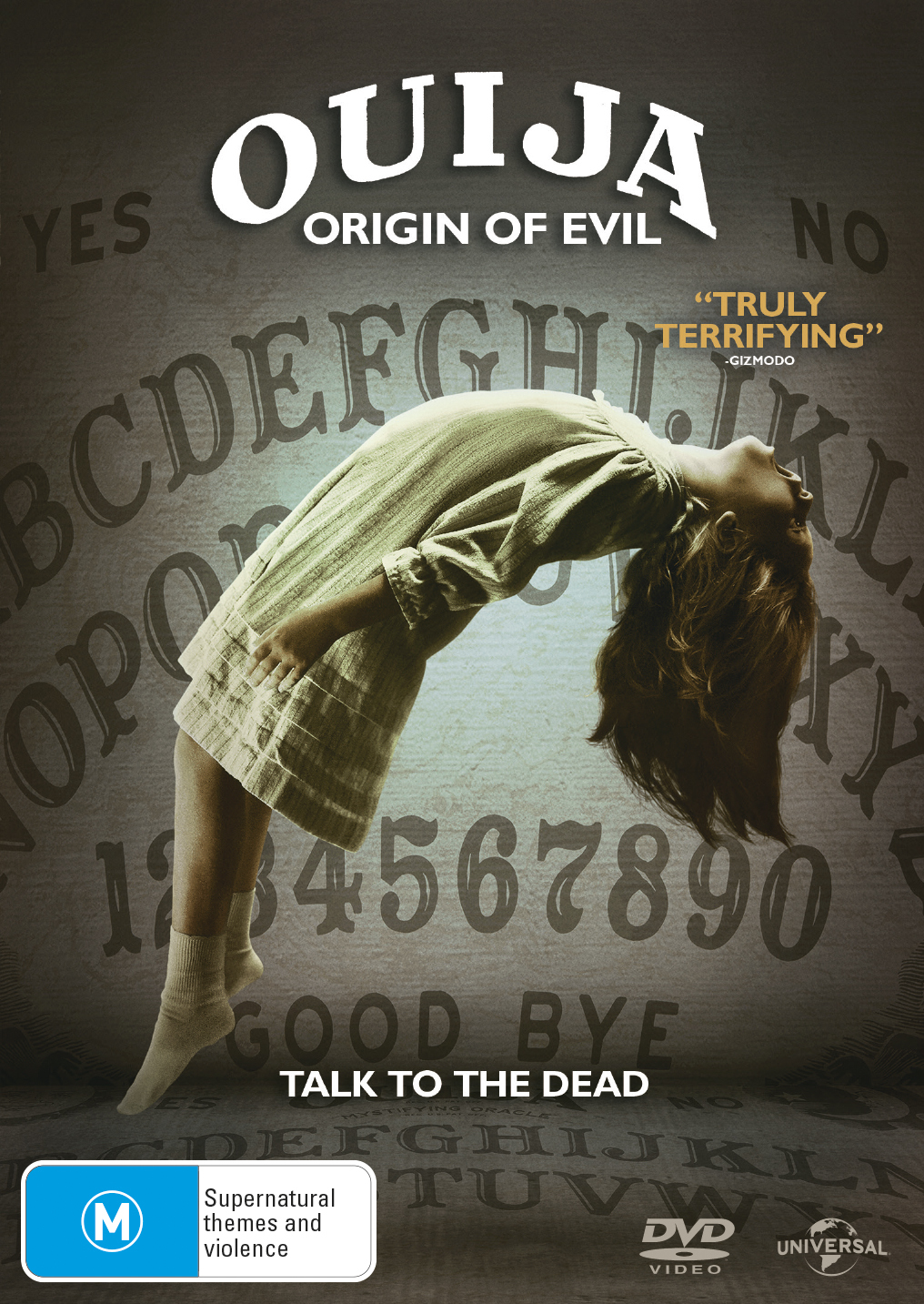 Ouija 2: Origin of Evil on DVD image