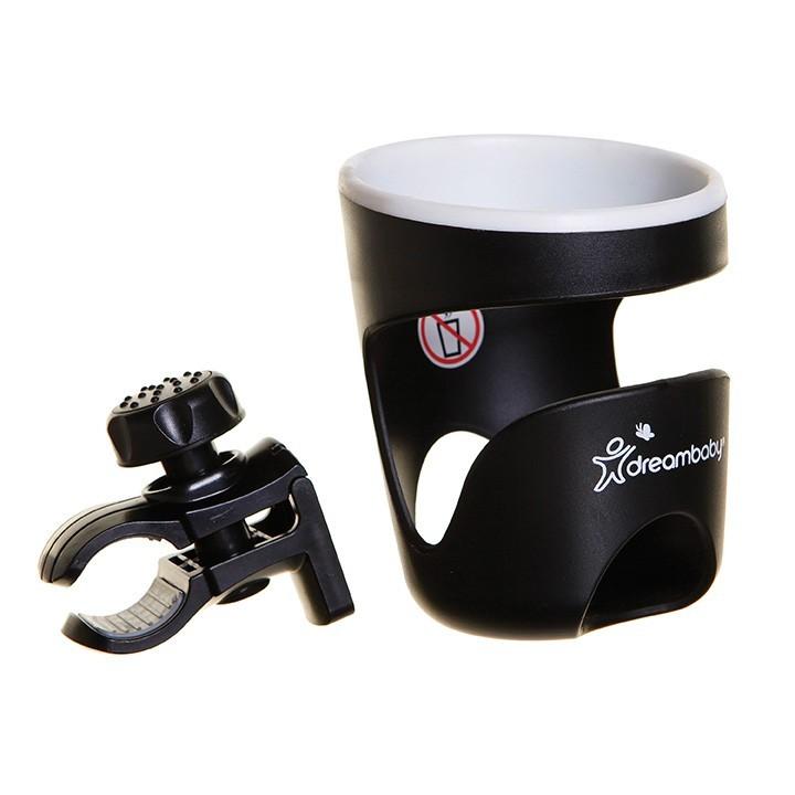Strollerbuddy® Drink Holder - Black/Cream Trim image
