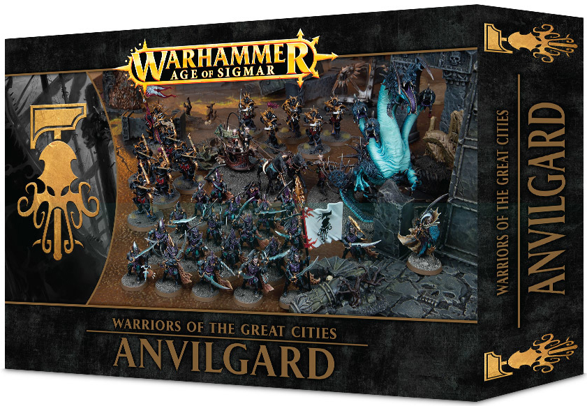 Age of Sigmar Warriors of the Great Cities: Anvilgard image