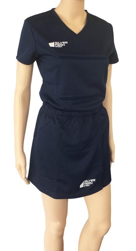 Silver Fern: Netball Skirt - 3XL (Navy)