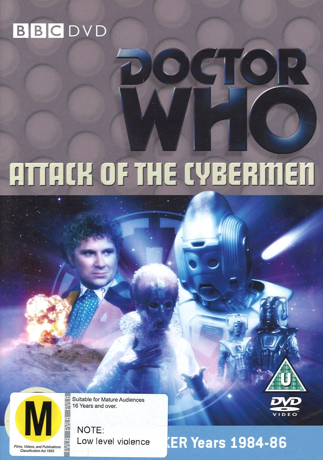 Doctor Who: Attack of the Cybermen on DVD image