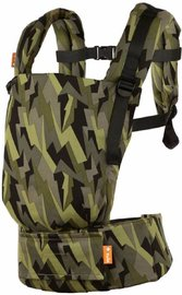 Baby Tula Free-to-Grow Canvas Carrier - Black Lightning (Jujube Design)