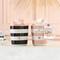 Two's Company Better Together Mug and Socks Gift Set