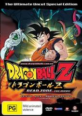 Dragon Ball Z - Movie 01 - The Deadzone (Uncut) on DVD