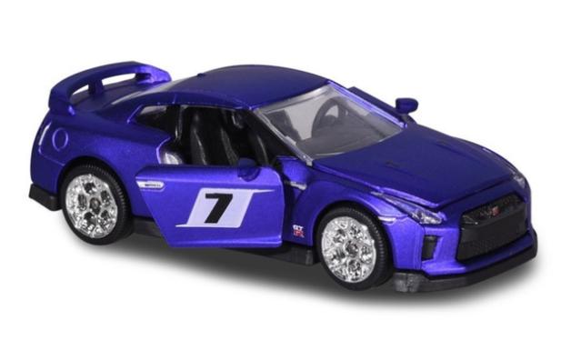 Majorette: Nissan GT-R No 7 (Deluxe) - 1:64 Scale Diecast Vehicle