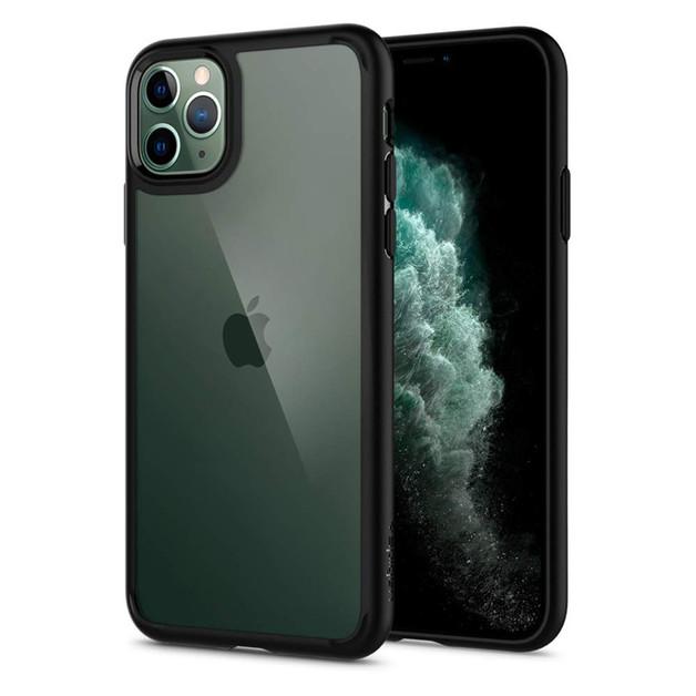 Spigen: iPhone 11 Pro Max Ultra Hybrid Case - Matte Black