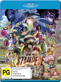 One Piece: Stampede on Blu-ray image