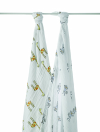 Aden+Anais Swaddle - Jungle Jam (2 Pack Swaddling Wraps)
