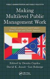 Making Multilevel Public Management Work