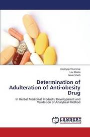 Determination of Adulteration of Anti-Obesity Drug by Thummar Kashyap