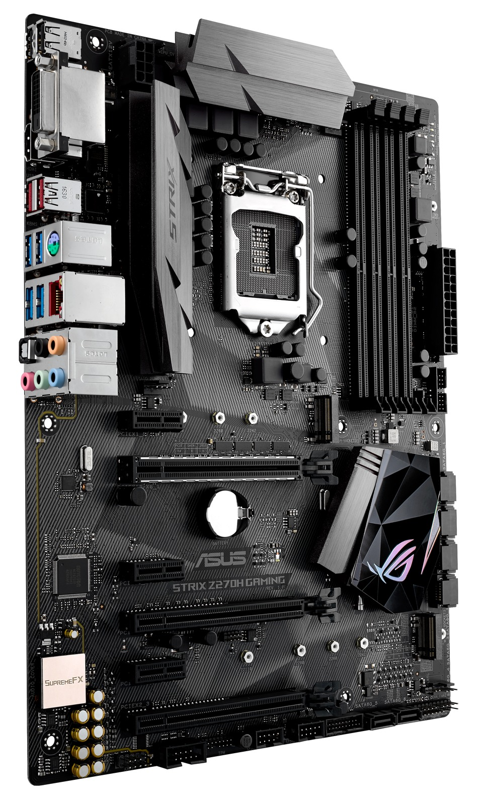 Asus Rog Strix Z270h Gaming Motherboard At Mighty Ape Nz