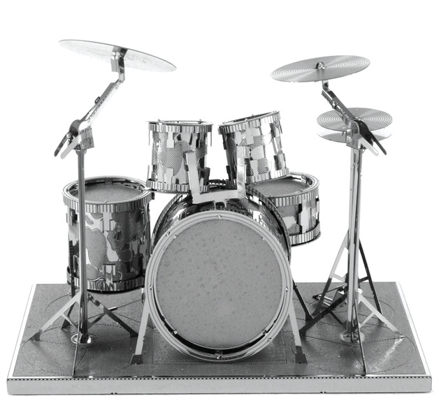 Metal Earth: Drum Set - Model Kit