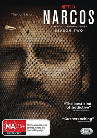 Narcos - Season 2 on DVD